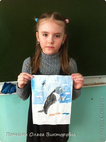 Пингвин (рисунок) фото 2