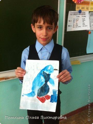Пингвин (рисунок) фото 3