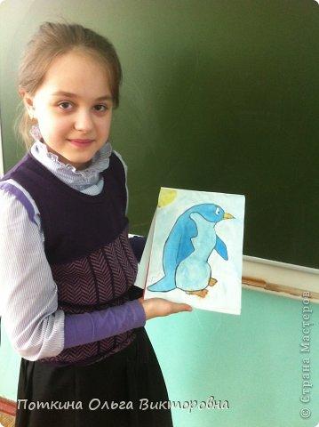 Пингвин (рисунок) фото 5