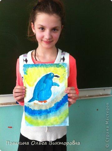 Пингвин (рисунок) фото 4