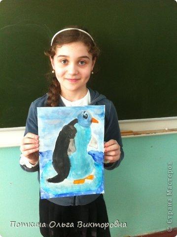 Пингвин (рисунок) фото 6
