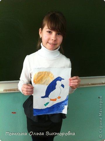 Пингвин (рисунок) фото 7