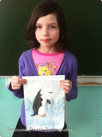 Пингвин (рисунок) фото 8