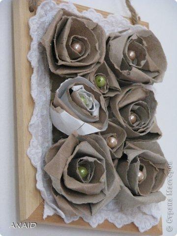 розочки из трубочек от туалетной бумаги фото 2