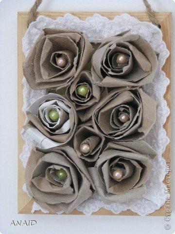 розочки из трубочек от туалетной бумаги фото 1