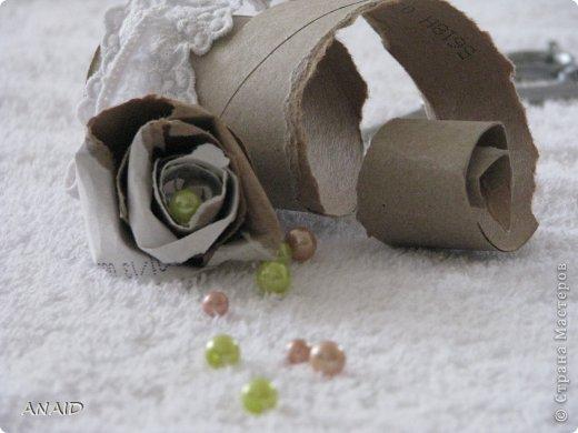 розочки из трубочек от туалетной бумаги фото 4