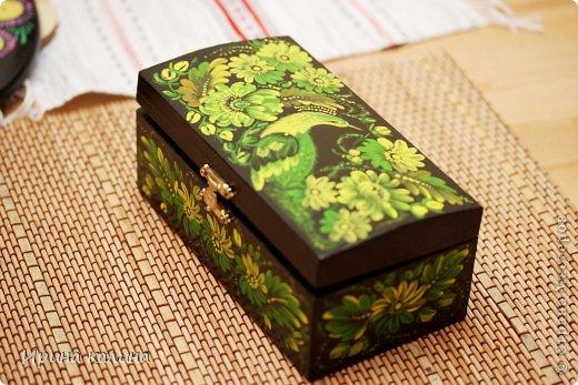 Деревянная шкатулка. фото 1