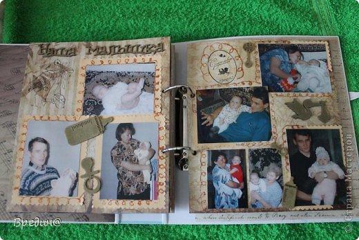 Этот альбом был изготовлен на юбилей моему дяде. Основа-папка для журналов. фото 34