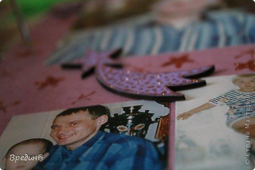 Этот альбом был изготовлен на юбилей моему дяде. Основа-папка для журналов. фото 51