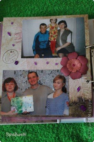 Этот альбом был изготовлен на юбилей моему дяде. Основа-папка для журналов. фото 54