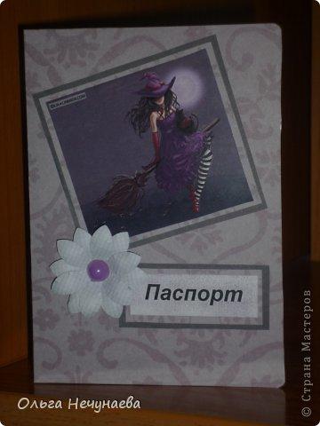 Здравствуйте!!! Я сегодня снова с обложками на паспорт - затянуло меня их создание. По моему мнению они пока получаются однотипные, но все еще впереди...  Первая и вторая обложки сделаны по типу обложки показанной мной здесь https://stranamasterov.ru/node/527055, так как одной девушке захотелось что-нибудь подобное...  фото 4
