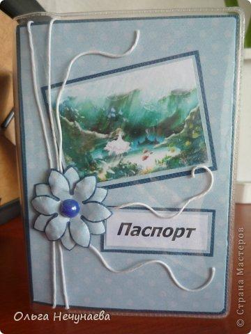 Здравствуйте!!! Я сегодня снова с обложками на паспорт - затянуло меня их создание. По моему мнению они пока получаются однотипные, но все еще впереди...  Первая и вторая обложки сделаны по типу обложки показанной мной здесь https://stranamasterov.ru/node/527055, так как одной девушке захотелось что-нибудь подобное...  фото 5
