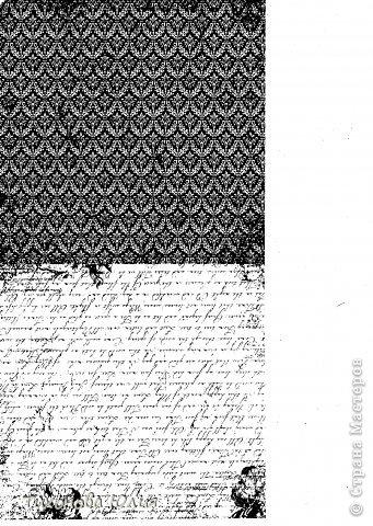 """Я увлекаюсь скрапбукингом, но к сожалению не имею цветного принтера для печатания красивых фонов. Недавно купила набор черно-белой скрап-бумаги форматом 15х15 и отсканировала в формате """"черно-белый рисунок или текст"""". Теперь распечатываю на цветной бумаге. фото 7"""