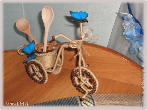 Вот, наконец, я сделала велосипед для своей кухни. фото 2