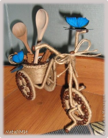 Вот, наконец, я сделала велосипед для своей кухни. фото 1