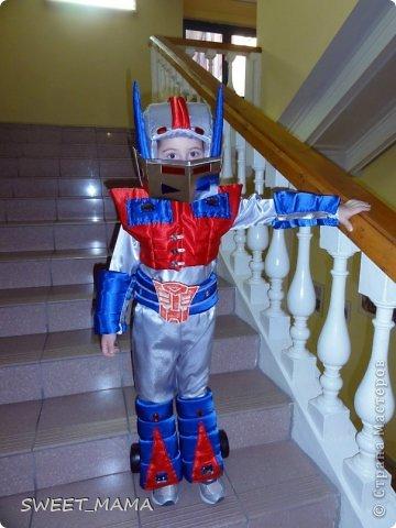 Костюмы робота своими руками для мальчика
