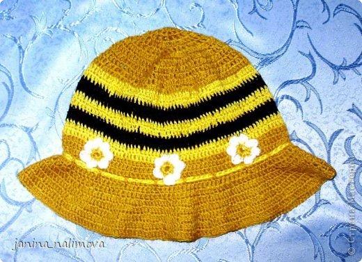 Из остатков ниток связала для внучки комплект кофточка со шляпкой и кофточку фото 3