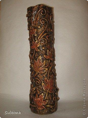 Декоративные вазы своими руками фото