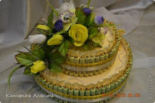 Такой тортик получился! фото 2