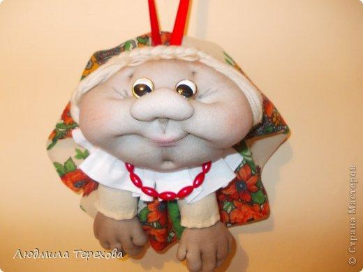 Кукла на удачу, выполненная по мастер-классу Елены Лаврентьевой. фото 2