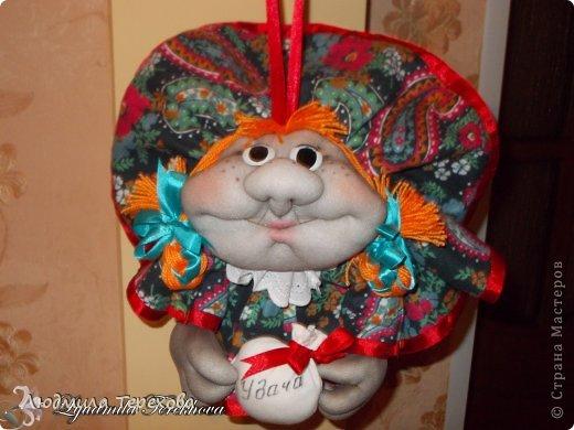 Кукла на удачу, выполненная по мастер-классу Елены Лаврентьевой. фото 1