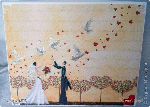 Скрапбукинг Свадьба Свадебный альбом 2 Бумага фото 1