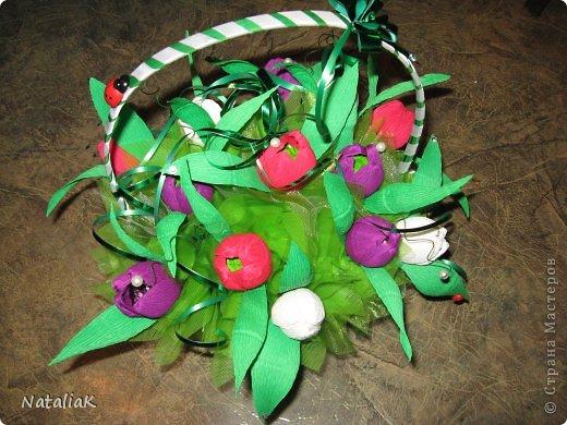 8 марта подарки из конфет фото 2