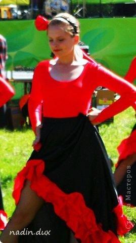 Этот костюм был сделан  для сольного танца . фото 5