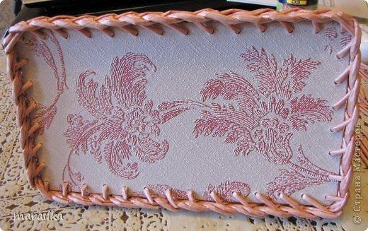 Мастер-класс Плетение Коса на дне коробочки Мастер-класс Бумага газетная Трубочки бумажные фото 31