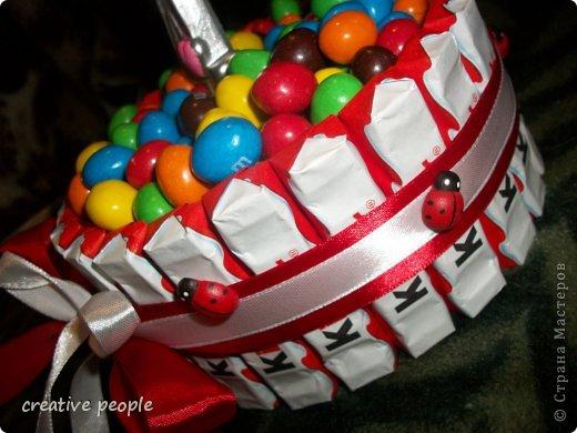 Торт из киндер сюрпризов своими руками мастер