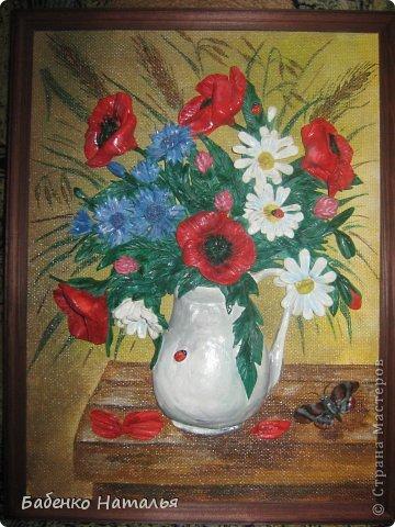 Приветствую всех!Сегодня я с букетом полевых цветов. фото 5