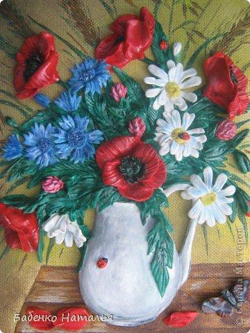 Приветствую всех!Сегодня я с букетом полевых цветов. фото 2