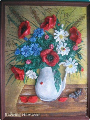 Приветствую всех!Сегодня я с букетом полевых цветов.