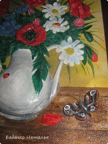 Приветствую всех!Сегодня я с букетом полевых цветов. фото 6