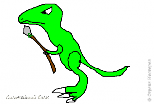 Как сделать из пластилина спинозавр