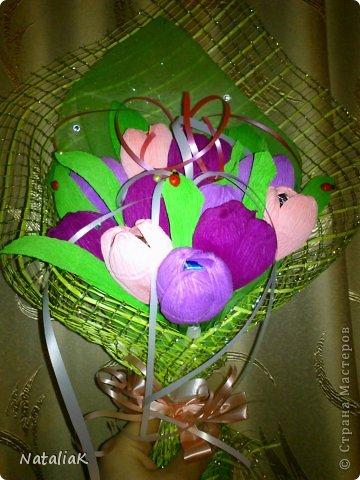 8 марта подарки из конфет фото 6