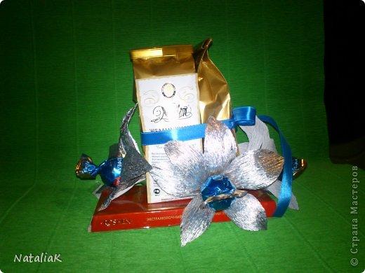 8 марта подарки из конфет фото 4