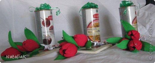 8 марта подарки из конфет фото 12