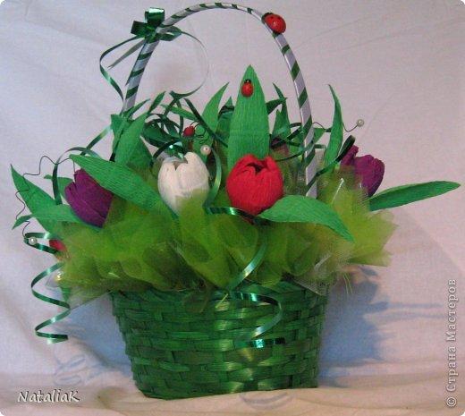 8 марта подарки из конфет фото 13