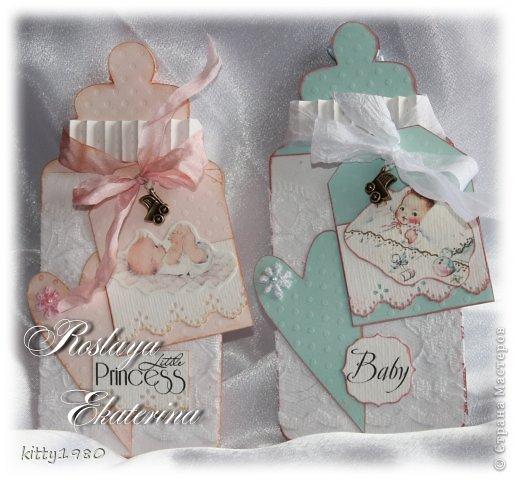 Скрапбукинг для новорожденной