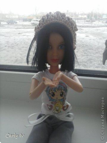 Добрый вечер!как я и обещала  Angry Ann сделать МК по вязанию беретика для куклы,наступает весна(хотя я не уверенна что она наступит,т.к. видите за окном кругом снег) и каждой кукле нужен беретик(извините за качество фотографий ,все таки на телефон фотографировала), и так приступим: фото 1