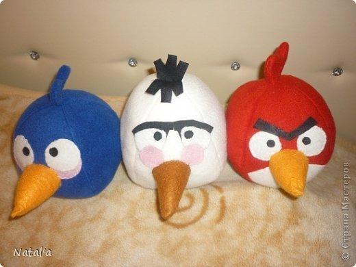 Три птички готовятся к бою со свинками... фото 6