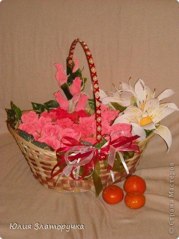 Эту корзину мне заказала одна актриса в благодарность для хорошей женщины. фото 1