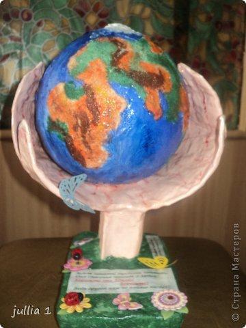 Как сделать поделки нашу планету