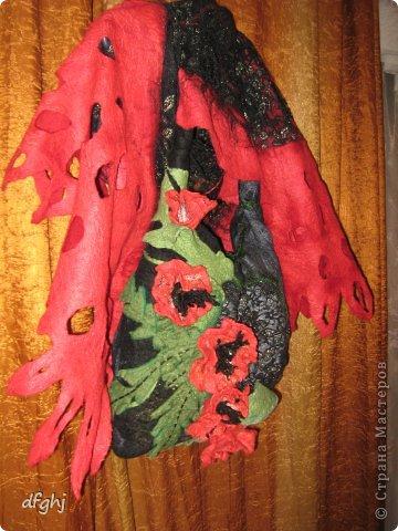шарф- палантин ,,Красная река,, фото 7