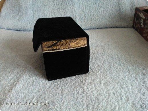 Превращение картонной  коробки в шкатулочку фото 1