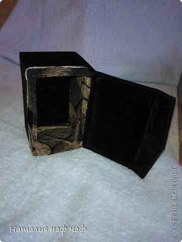Превращение картонной  коробки в шкатулочку фото 2
