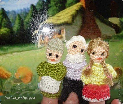 Вязание крючком - Пальчиковый кукольный театр.
