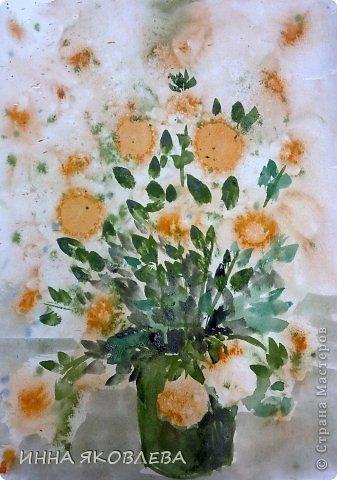 Букетик цветов рисунок