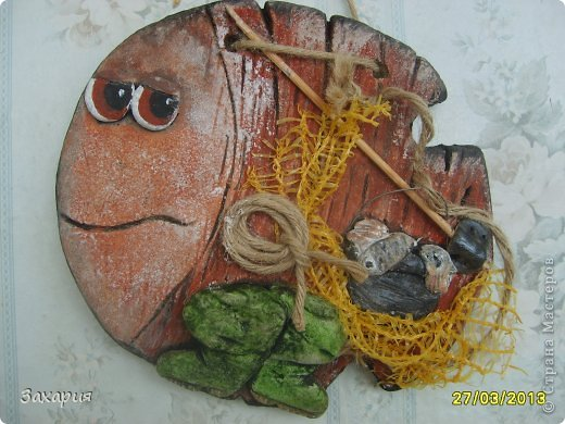 Поделка дедушке рыбаку 30